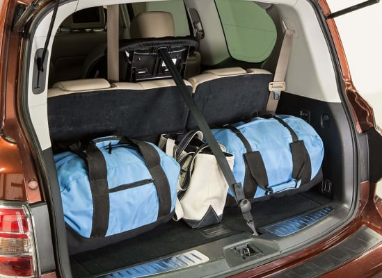 A Third Row Top Tether Anchor On The Cargo Area Floor Can Interfere With Loading So Try Different Seating Position For Your Child Seat If You Need