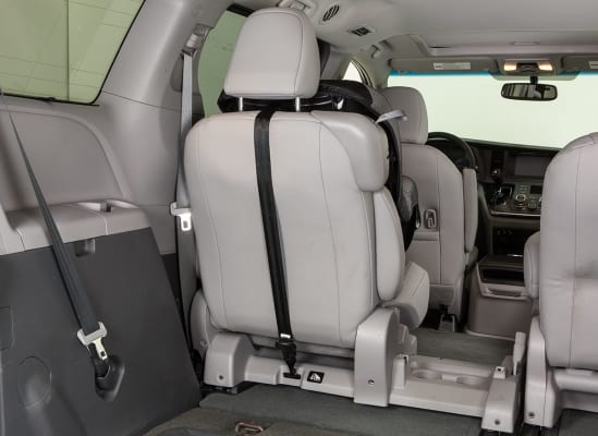 Sometimes The Top Tether Anchor Is Located At Very Bottom Of Seatback Which May Be Too Far For Some Straps Try An Alternate Seating