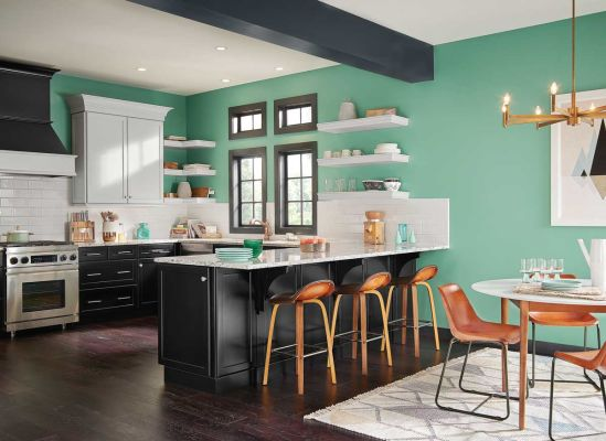 Pick the perfect paint sheen for every room consumer reports for Best paint sheen for kitchen cabinets