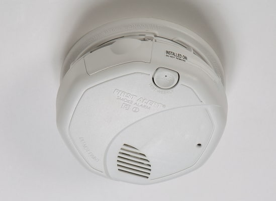 Most smoke detectors offer hush buttons.