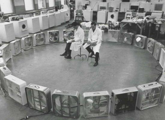 Portable electric fans, 1962