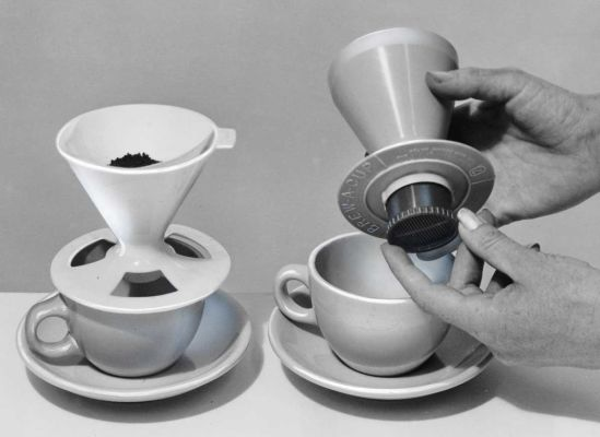 One-cup coffeemakers, 1965