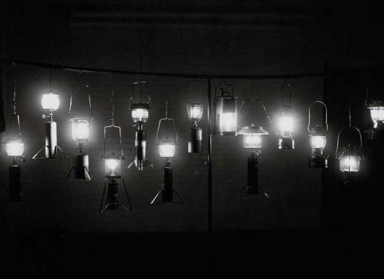 Camp lanterns, 1972