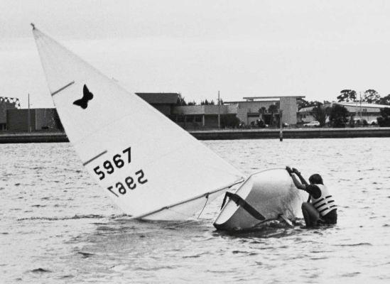 Small sailboats, 1975