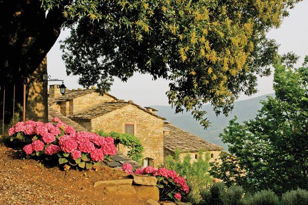 Restored medieval village Tuscon