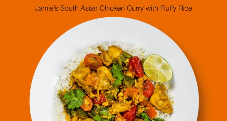 HelloFresh Jamie's South Asian Chicken Curry with Fluffy Rice