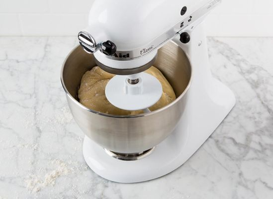 Photo of a locking power head on a stand mixer.