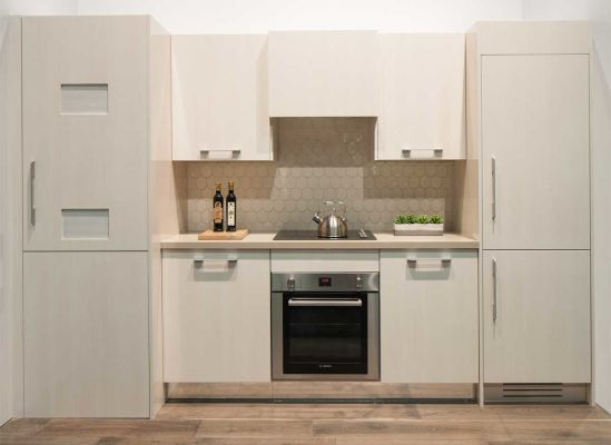 These 24-inch-wide Bosch appliances can take custom panels