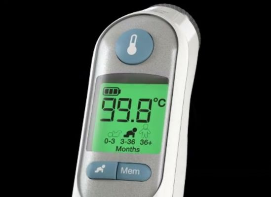 A thermometer that has memory and auto shutoff.