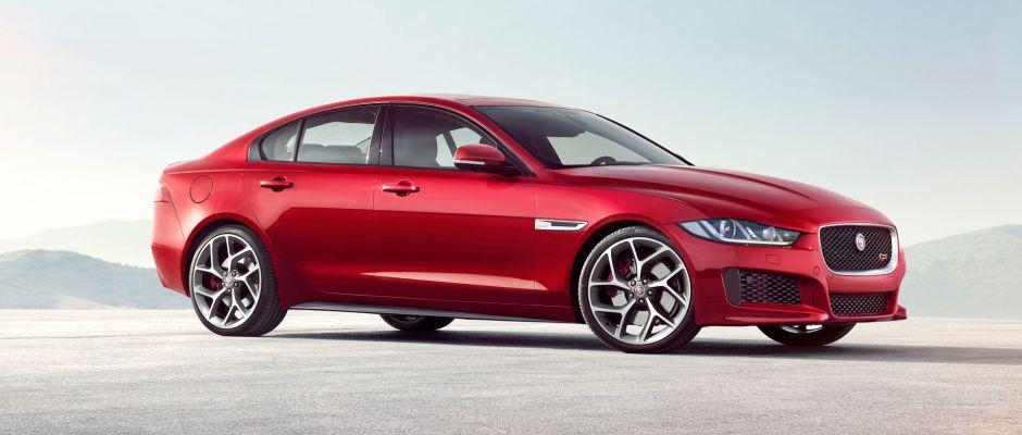 An Image Of The 2016 Jaguar Xe Luxury Sedan