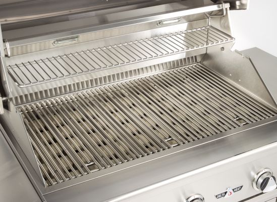 Heavy-duty gas grill grates.