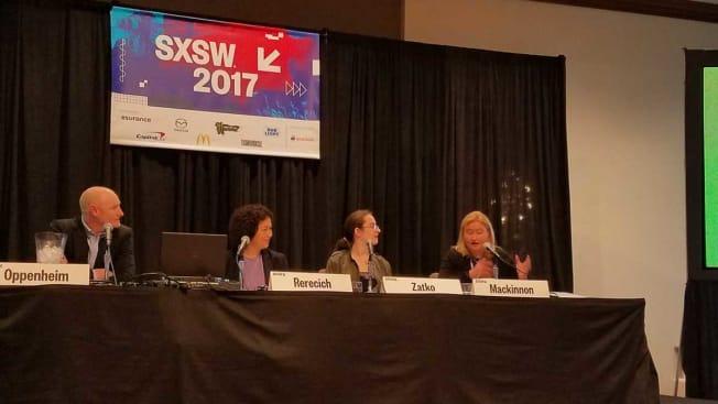 SXSW privacy panel with Maria Rerecich