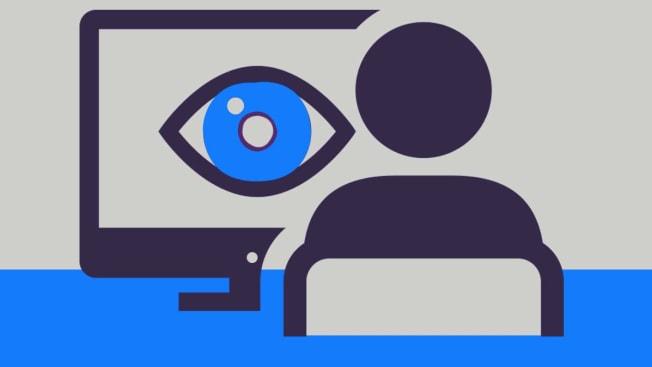 Computer watching you