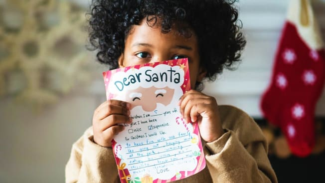 Child and holiday wish list
