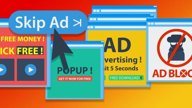 Pop up ads