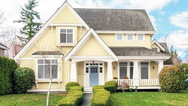 PPG Glidden exterior paint on house