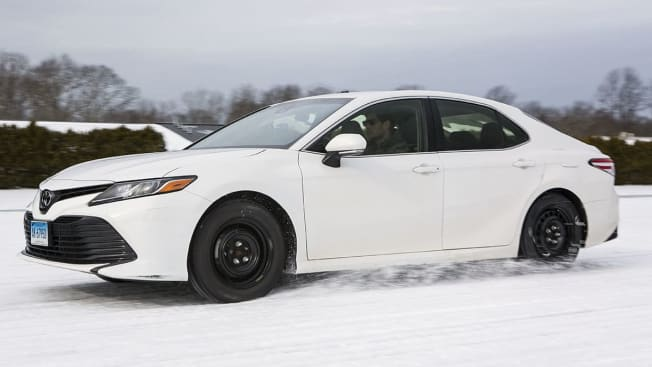 Toyota Camry Winter Tire Testing