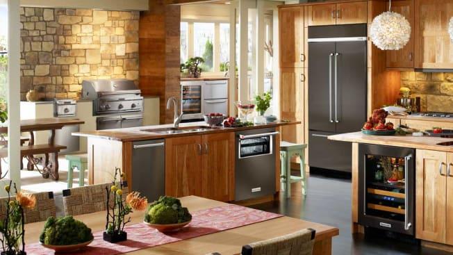 KitchenAid KBFN502EBS built-in