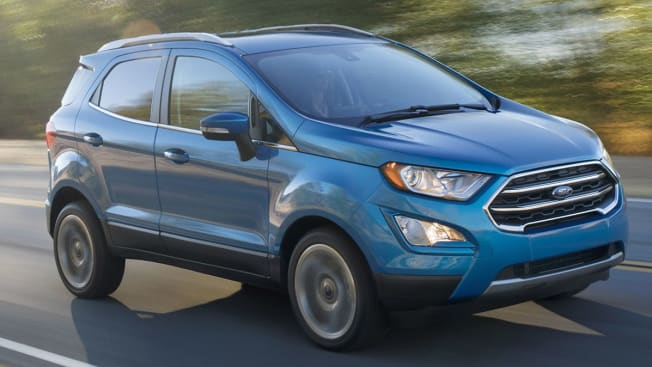2018 Ford EcoSport driving