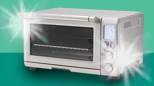Clean, shiny toaster