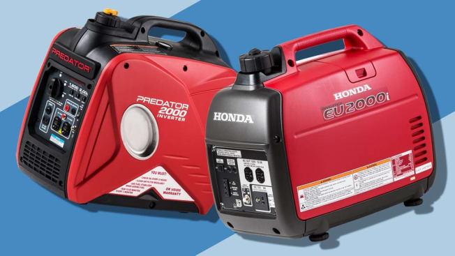 Honda Versus Harbor Freight Generators