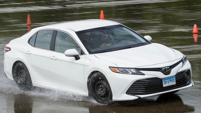 "Tire testing 2018 Wet Handling Photographer: John ""JP"" Powers"