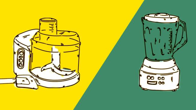 Blender versus food processor