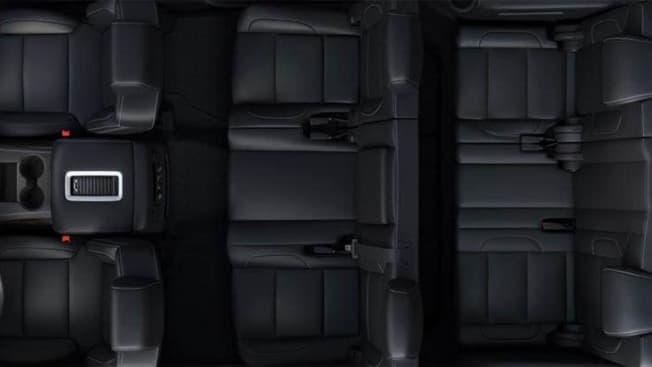 2016 GMC Yukon seats