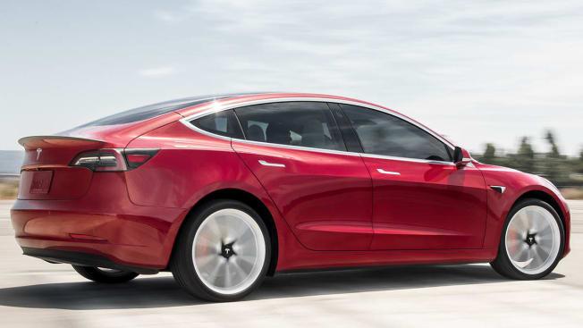 Tesla Model 3 rear