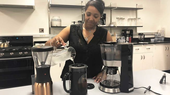 Cold brew coffee maker testing