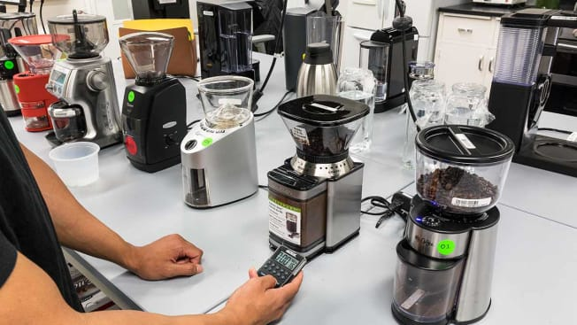 coffee grinder testing