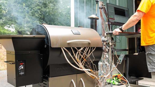 testing pellet grills