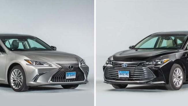 Face Off lexus ES . Toyota Avalon