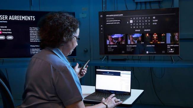 TV privacy testing
