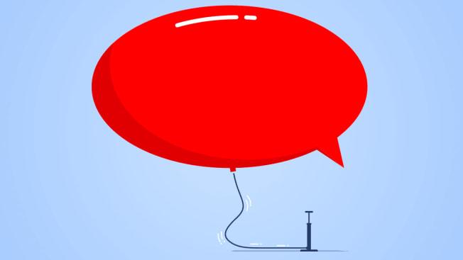 word bubble