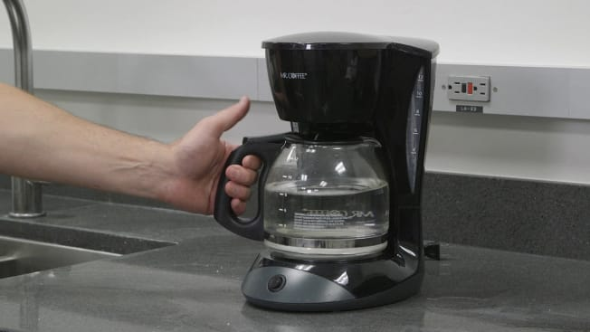 cleaning coffee maker