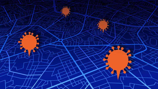 coronavirus mapping