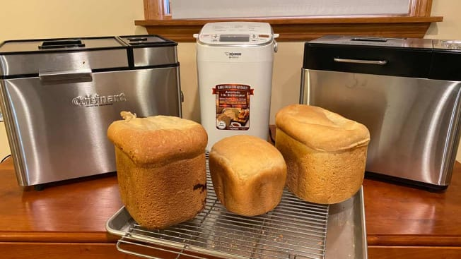 Testing bread makers