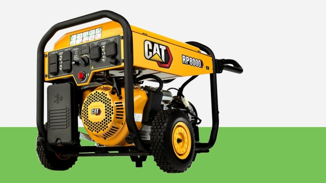Caterpillar generator on grey and green background