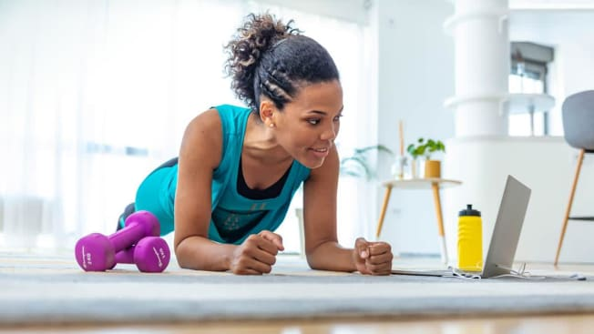 person exercising  exercise clothes