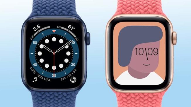 apple 6( left) & SE ( right)