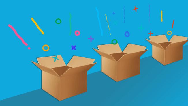 boxes of joy