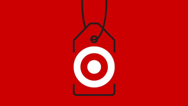 Target logo and price tag