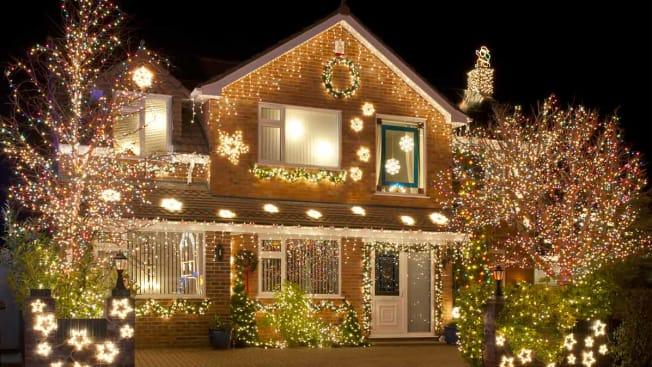 Generic House Christmas Lights  USA
