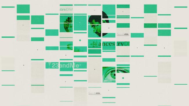 genetic testing kits graphic
