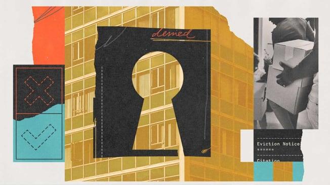 tenant background illustration
