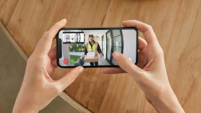 Ring doorbell 3 plus footage image phone