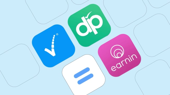 Various wage advance apps.