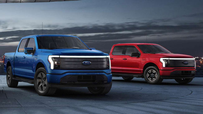 2022 Ford F-150 Lightning Lariat and XLT