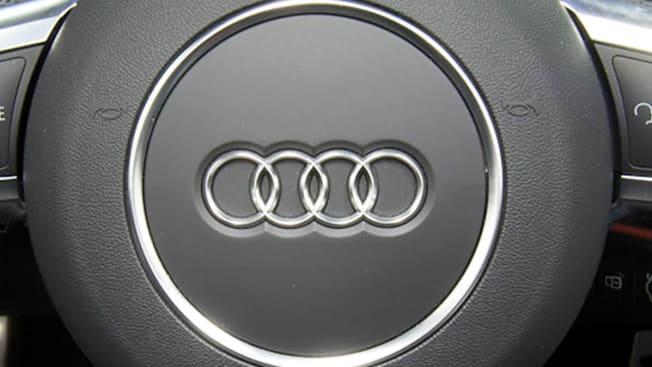 2012 Audi TT steering wheel